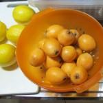 枇杷とレモン